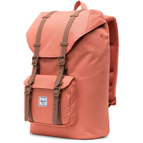 Herschel Little America Mid-Volume Sac à dos 17L, apricot brandy/saddle brown